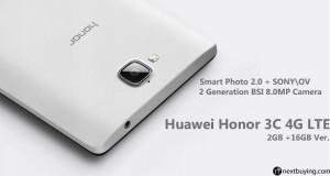 Huawei Honor 3c 4g lte