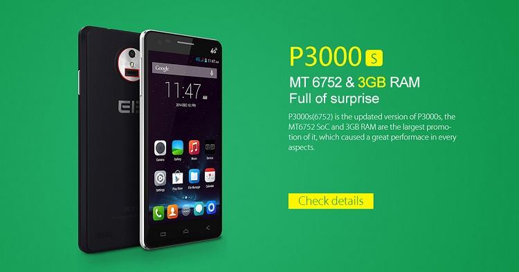elephone p3000s plus 3gb