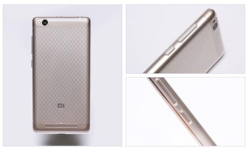 Custodia bumper+cover nero  originale Case per Xiaomi Redmi 3