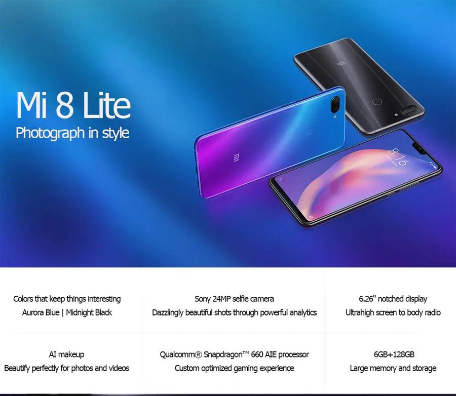 Xiaomi Mi 8 Lite Global Prezzo Italia